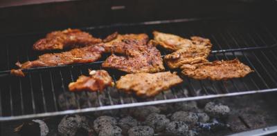 Vepřové maso na grilu
